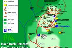 Eco Retreat Village south from Hobart (tourism, community or family estate) 1